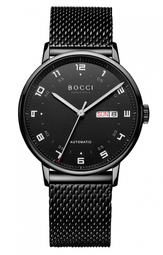 宝驰BC013男士机械腕表|BOCCI Men's Automatic Waterproof Watch(BC013)