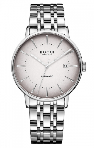 宝驰BC017男士机械手表|BOCCI Men's Automatic Waterproof Watch(BC017)