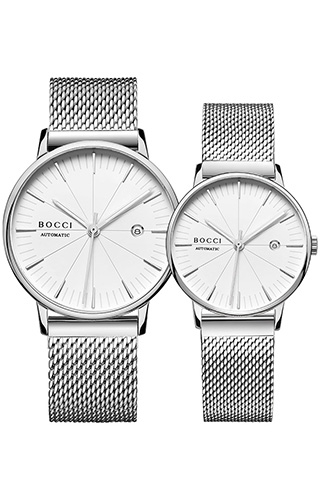 宝驰BC005情侣机械手表|BOCCI Couple Automatic Waterproof Watch(BC005)