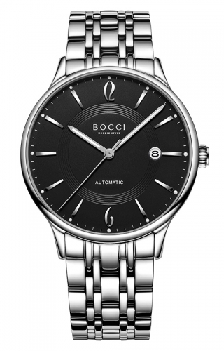 宝驰BC012G男士机械手表|BOCCI Men's Automatic Waterproof Watch(BC012G)