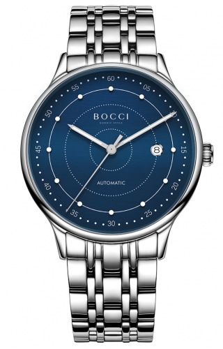 宝驰BC015G男士机械手表|BOCCI Men's Automatic Waterproof Watch(BC015G)